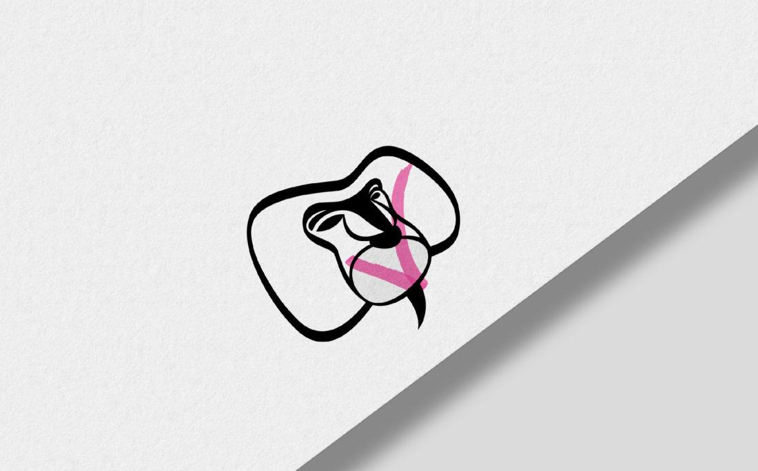 Articulate-Baboon-street-art-gallery-Cairo-logo-design