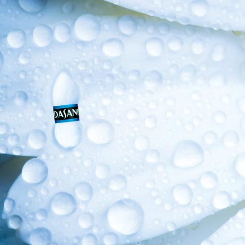 Dasani Water Egypt print campaign blue drop detail