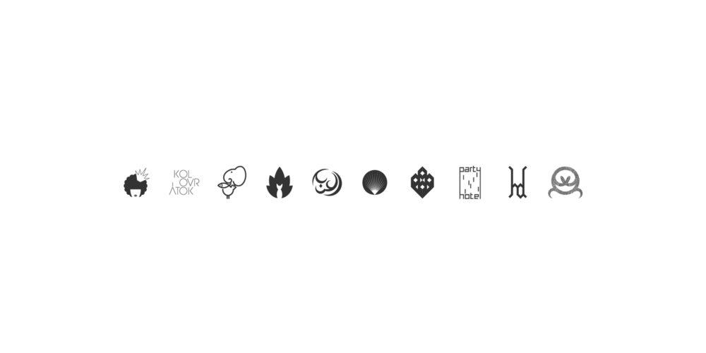 dezakaya-prague-logos-design