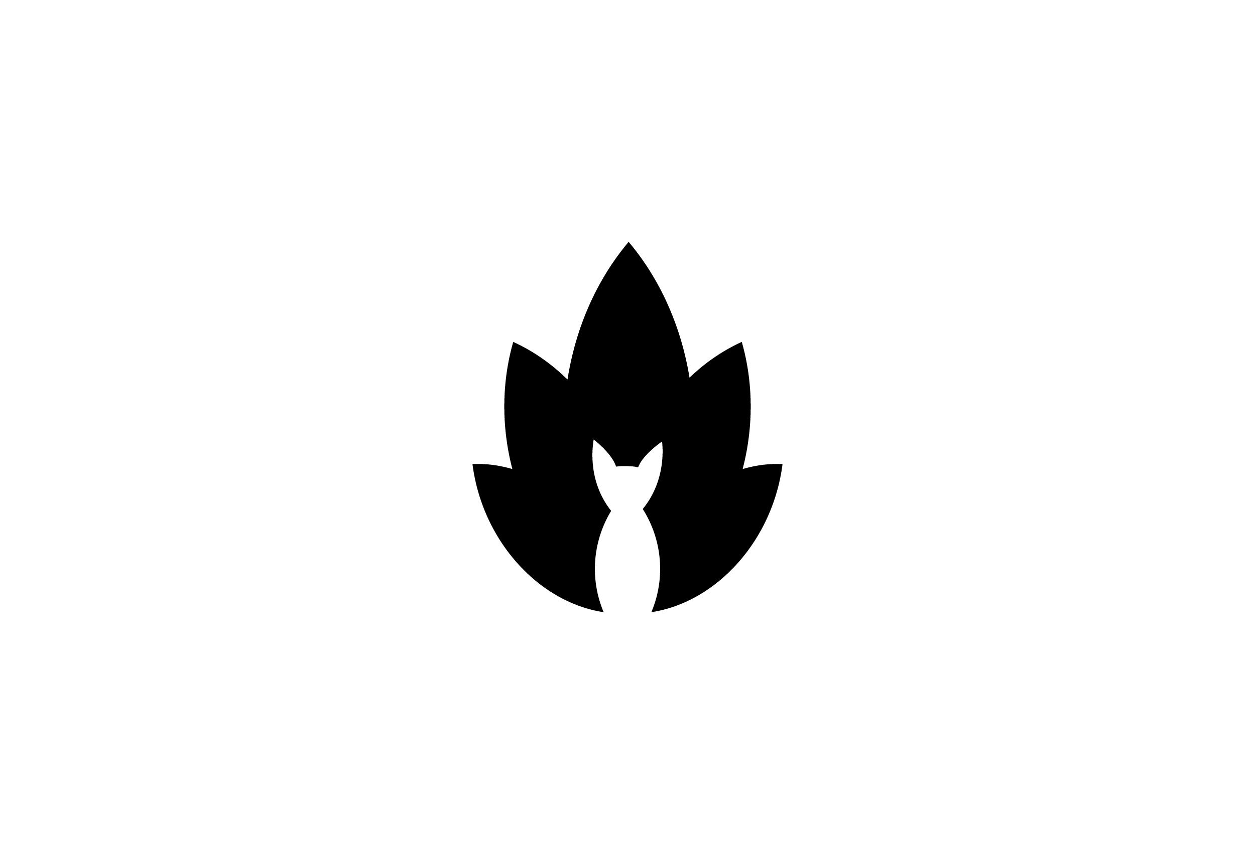 dezakaya-logo-design-japanese-kitsune-restaurant-dubai