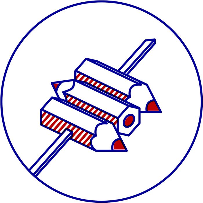 dezakaya illustration icon yakitori pencils