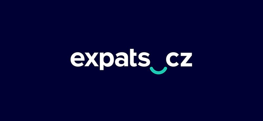 Expats.cz new logo design with bridge