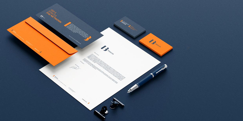 IBB Praha identity design